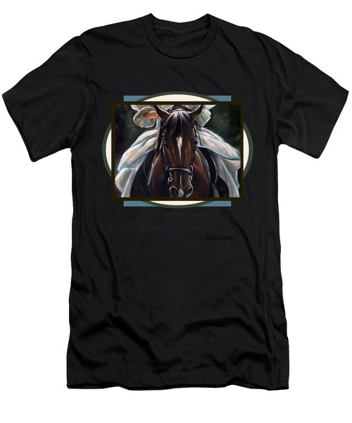 To Fly Without Wings Men's T-Shirt (Athletic Fit)