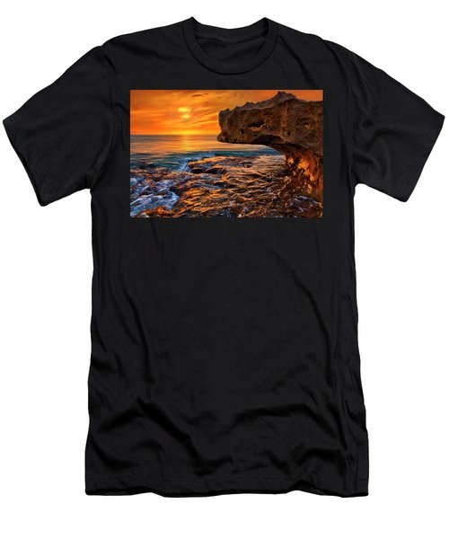 To God Be The Glory - Sunrise Over Ocean Reef Park On Singer Island Florida Men's T-Shirt (Athletic Fit)