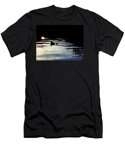 Men's T-Shirt (Slim Fit) featuring the photograph To The Light by Menega Sabidussi