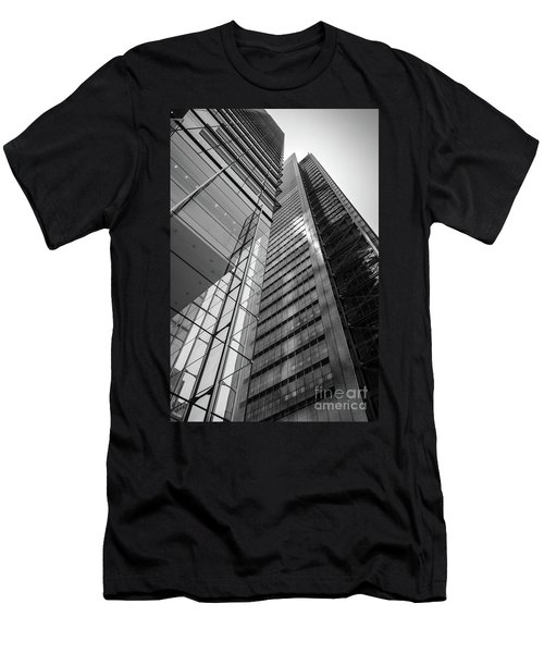 To The Top   -27870-bw Men's T-Shirt (Slim Fit) by John Bald