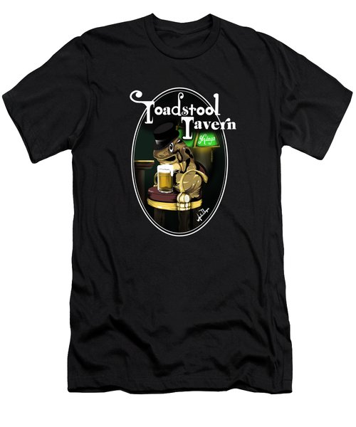 Toadstool Tavern  Men's T-Shirt (Athletic Fit)