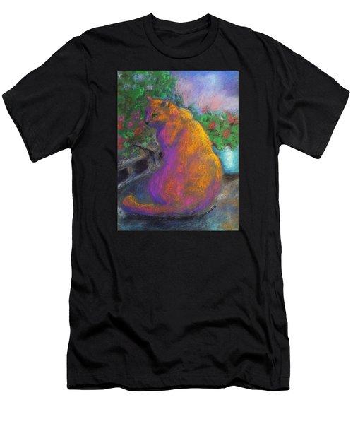 Toby's Garden Path Men's T-Shirt (Athletic Fit)