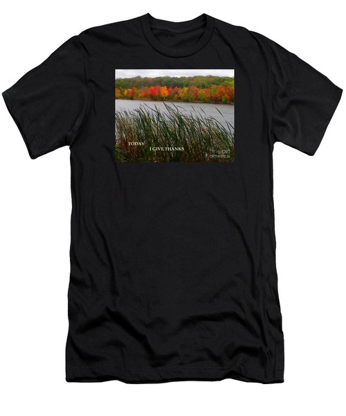 Men's T-Shirt (Slim Fit) featuring the photograph Today I Give Thanks by Christina Verdgeline