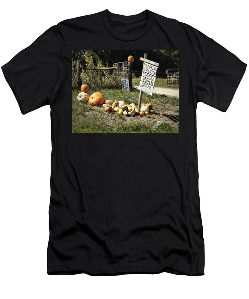 Men's T-Shirt (Slim Fit) featuring the photograph Today's Harvest by Cricket Hackmann