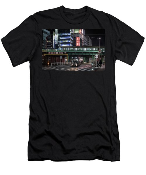 Tokyo Transportation, Japan Men's T-Shirt (Athletic Fit)
