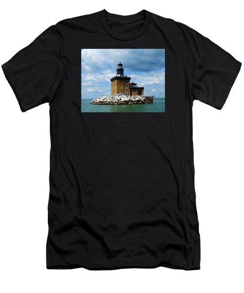 Toledo Harbor Lighthouse Men's T-Shirt (Athletic Fit)