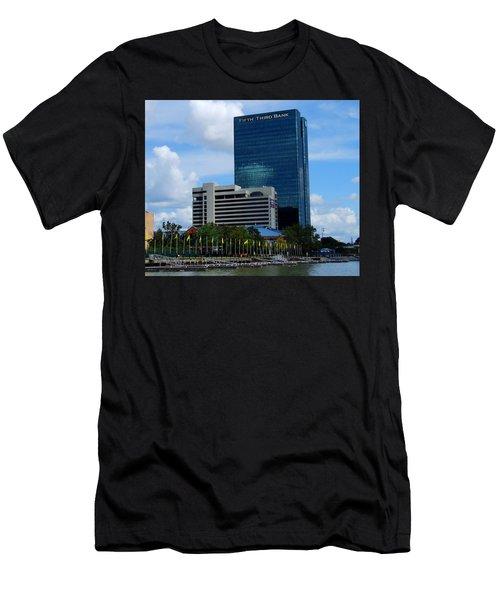 Toledo's Waterfront I Men's T-Shirt (Athletic Fit)