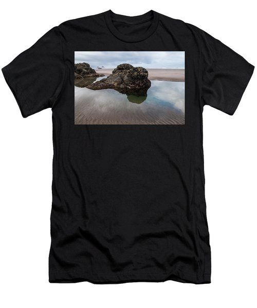Tolovana Beach At Low Tide Men's T-Shirt (Athletic Fit)