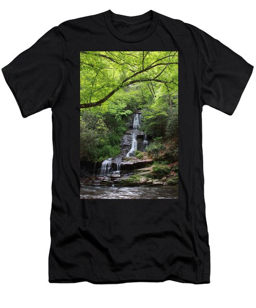 Tom Branch Falls - Gsmnp Men's T-Shirt (Athletic Fit)