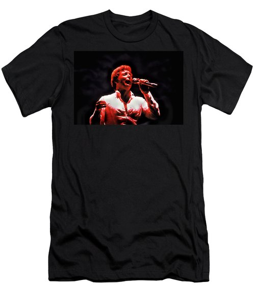 Tom Jones In Concert Men's T-Shirt (Athletic Fit)