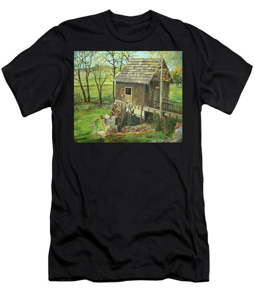 Tom Lott's Mill In Georgia Men's T-Shirt (Athletic Fit)