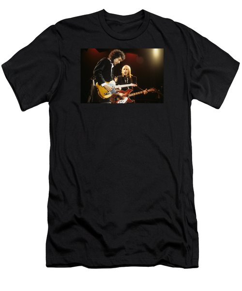Tom Petty And Mike Campbell Men's T-Shirt (Athletic Fit)