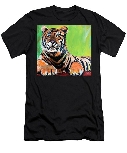 Tom Tiger Men's T-Shirt (Athletic Fit)