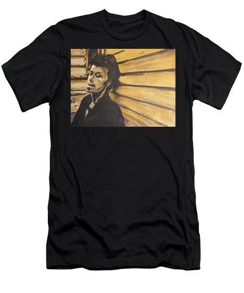Tom Waits Men's T-Shirt (Athletic Fit)