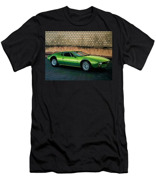 Tomaso Mangusta 1967 Painting Men's T-Shirt (Athletic Fit)