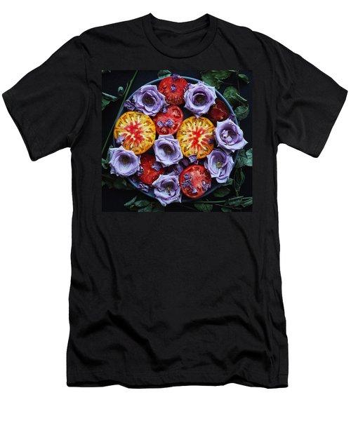 Tomato Eats Men's T-Shirt (Athletic Fit)