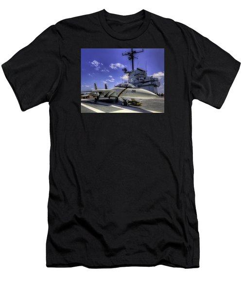 Tomcat On Deck Men's T-Shirt (Athletic Fit)