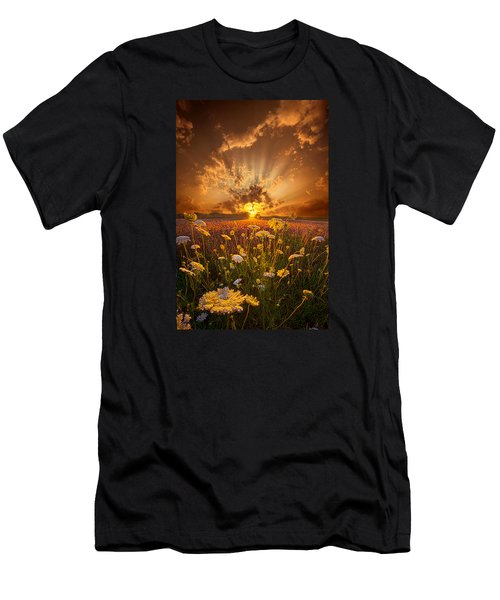 Tomorrow Is Just One Of Yesterday's Dreams Men's T-Shirt (Athletic Fit)
