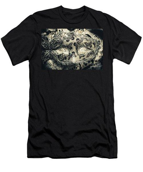 Toned Image Of Beautiful Festive Venetian Mask Men's T-Shirt (Athletic Fit)