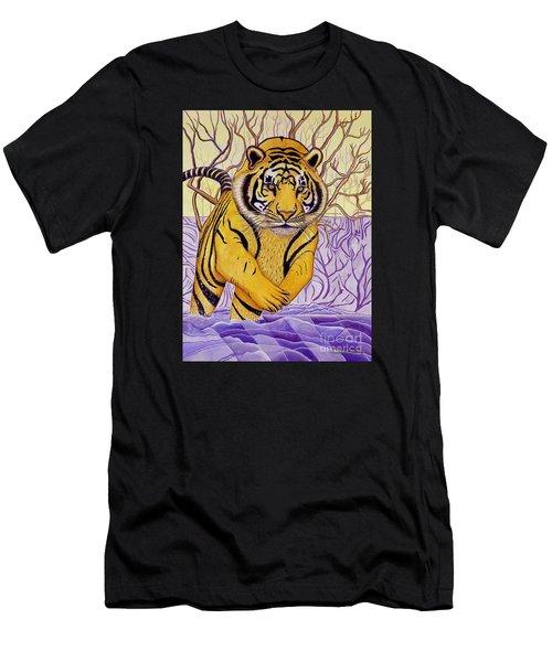 Tony Tiger Men's T-Shirt (Athletic Fit)