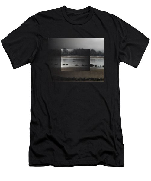 Men's T-Shirt (Athletic Fit) featuring the painting Too Early Out by Ivana