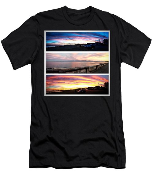 Took The Scenic Route Home From Work Men's T-Shirt (Athletic Fit)