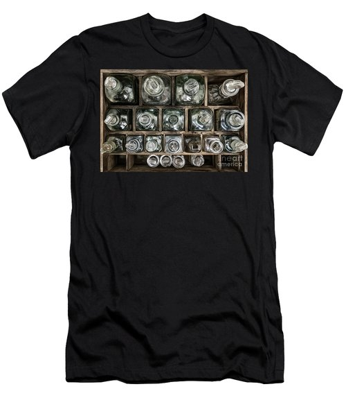 Men's T-Shirt (Athletic Fit) featuring the photograph Top Down View by Brad Allen Fine Art