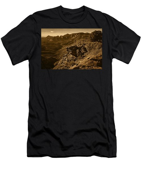 Top Of The Hill Men's T-Shirt (Athletic Fit)
