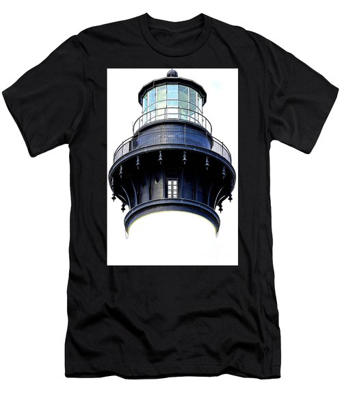 Top Of The Lighthouse Men's T-Shirt (Slim Fit) by Shelia Kempf
