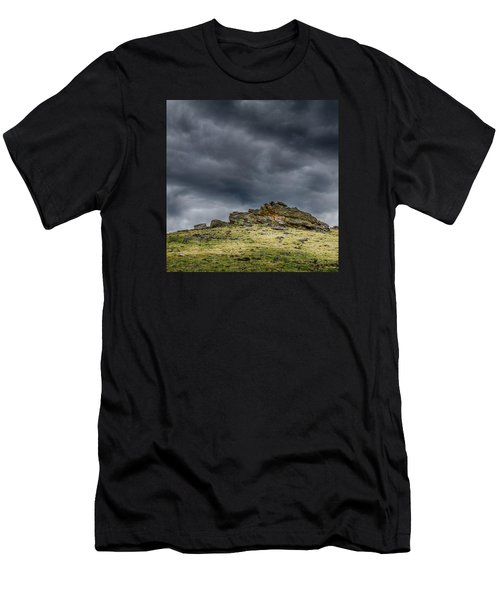Top Of The Mountain Men's T-Shirt (Athletic Fit)