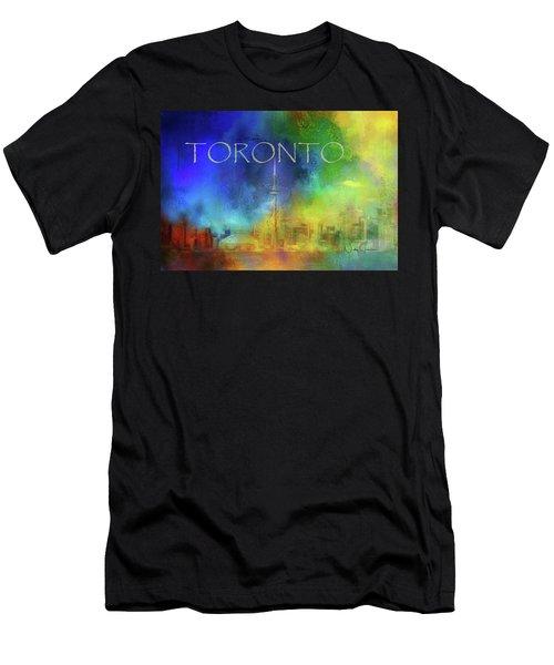 Toronto - Cityscape Men's T-Shirt (Athletic Fit)