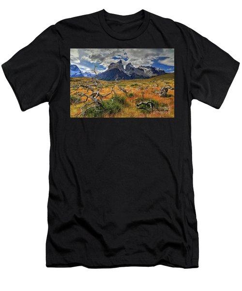 Torres Del Paine 18 Men's T-Shirt (Athletic Fit)