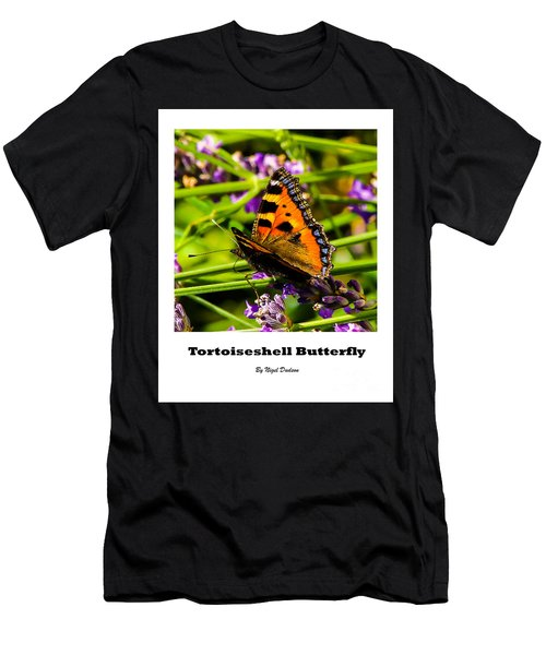 Tortoiseshell Butterfly. Men's T-Shirt (Athletic Fit)
