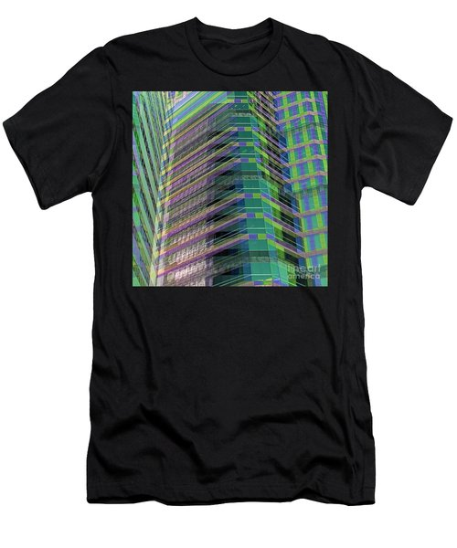 Abstract Angles Men's T-Shirt (Athletic Fit)