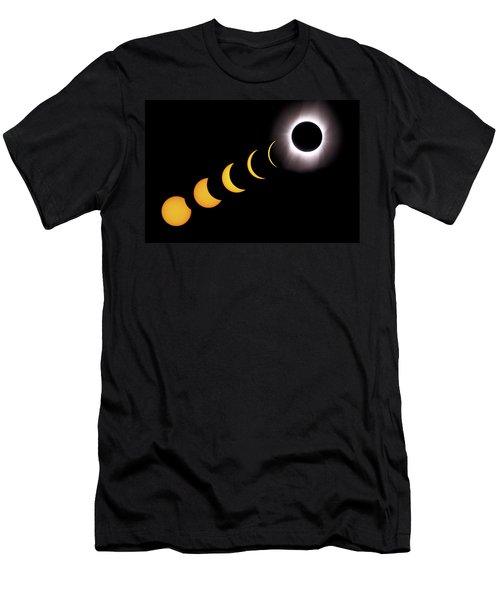 Total Eclipse Sequence, Aruba, 2/28/1998 Men's T-Shirt (Athletic Fit)