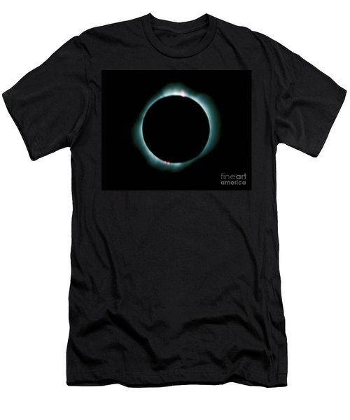 Total Solar Eclipse Men's T-Shirt (Athletic Fit)