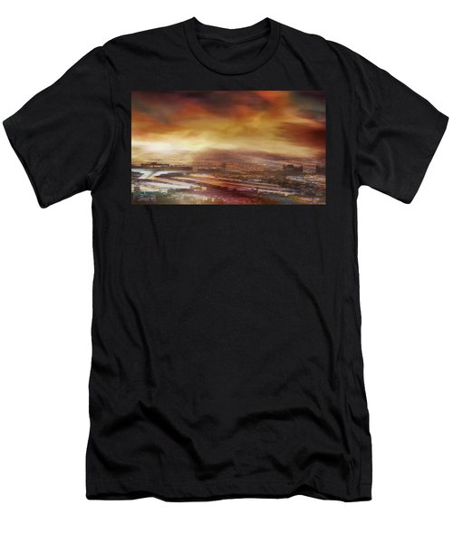 Touch By The Sunrise Men's T-Shirt (Athletic Fit)