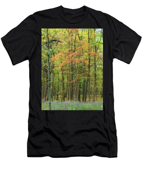 Touch Of Autumn Men's T-Shirt (Athletic Fit)