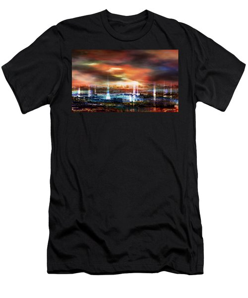 Touch By The Sunset Men's T-Shirt (Athletic Fit)