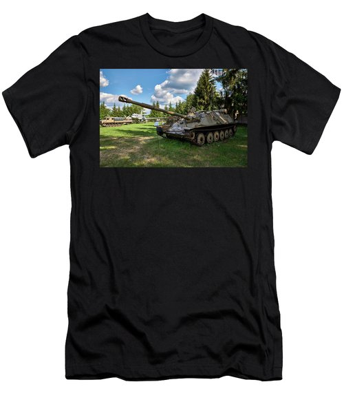 Men's T-Shirt (Athletic Fit) featuring the photograph Toughy by Tgchan