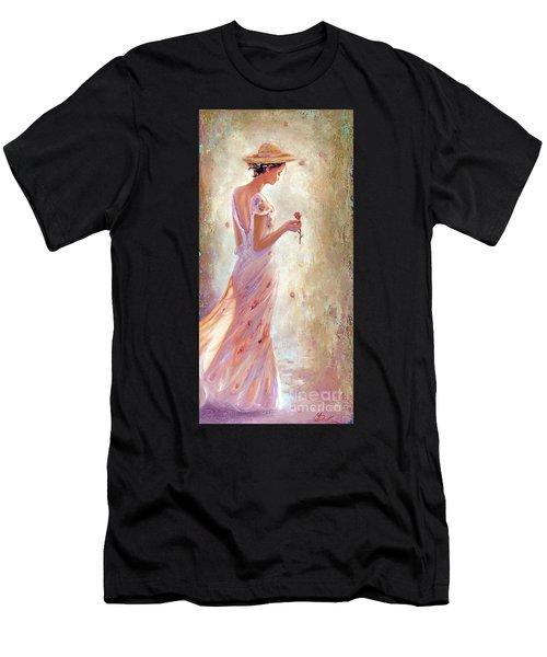 Toujours De Fleurs Men's T-Shirt (Athletic Fit)