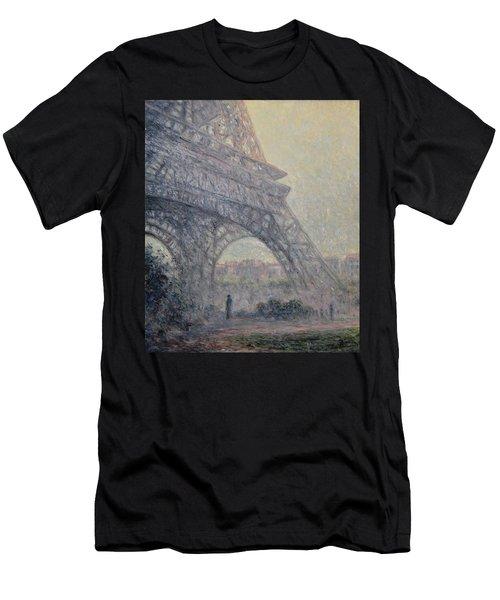 Paris , Tour De Eiffel  Men's T-Shirt (Slim Fit) by Pierre Van Dijk
