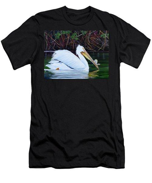 Touring Pelican Men's T-Shirt (Slim Fit)