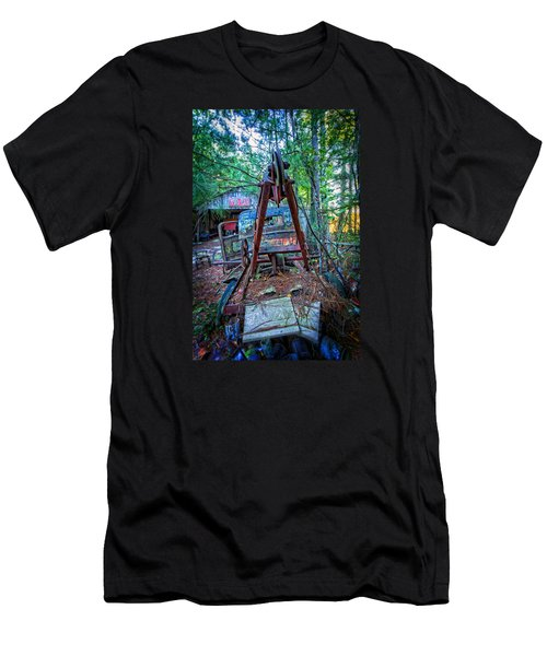 Tow No More Men's T-Shirt (Slim Fit) by Alan Raasch