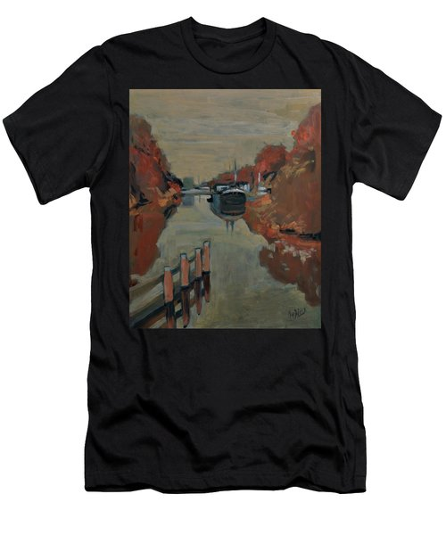 Towards Pius Harbour Men's T-Shirt (Athletic Fit)