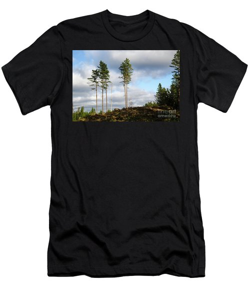 Men's T-Shirt (Athletic Fit) featuring the photograph Towards The Sky by Kennerth and Birgitta Kullman