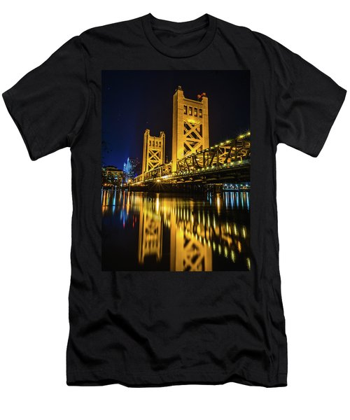 Tower Reflections Men's T-Shirt (Athletic Fit)