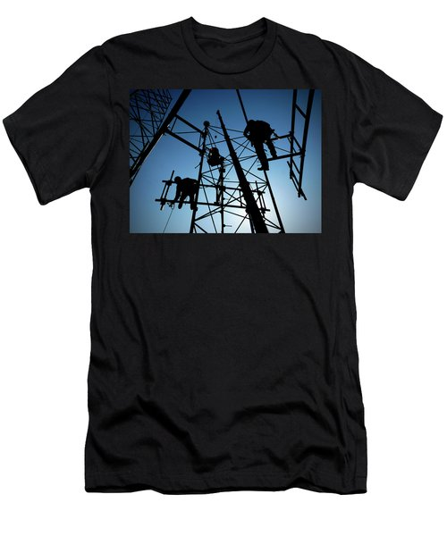 Tower Tech Men's T-Shirt (Athletic Fit)
