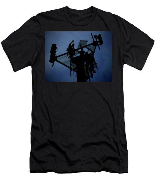 Tower Top Men's T-Shirt (Slim Fit) by Robert Geary