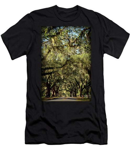 Towering Canopy Men's T-Shirt (Slim Fit) by Carla Parris